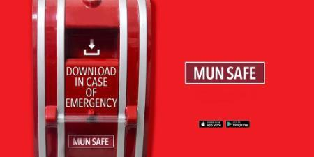 MUN Safe App Main Body