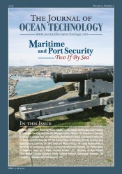 Journal of Ocean Technology (JOT) School of Ocean Technology Marine Institute